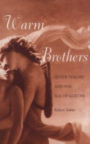 Cover of: Warm brothers