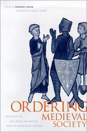 Cover of: Ordering medieval society