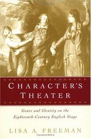 Cover of: Character