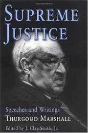 Cover of: Supreme Justice