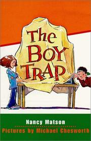 Cover of: The boy trap