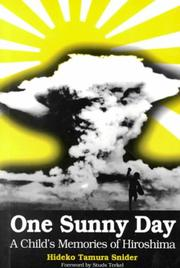 Cover of: One sunny day