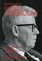 Cover of: The Philosophy of Chisholm (Library of Living Philosophers, V.8)