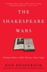 Cover of: The Shakespeare Wars