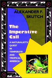 Cover of: The imperative call