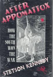 Cover of: After Appomattox