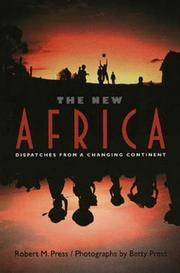 Cover of: The new Africa