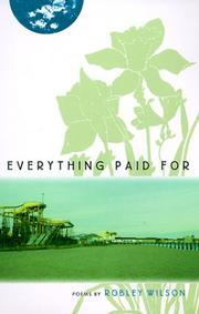 Cover of: Everything paid for