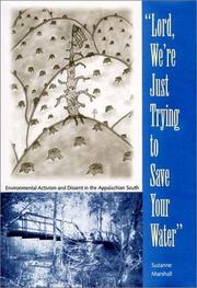 "Cover of: ""Lord, we're just trying to save your water"""