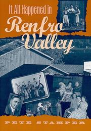 Cover of: It All Happened in Renfro Valley | Pete Stamper