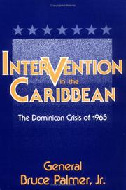 Cover of: Intervention in the Caribbean | Palmer, Bruce