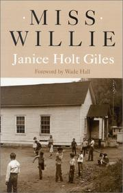 Cover of: Miss Willie