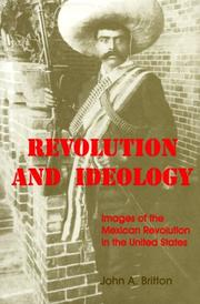 Cover of: Revolution and ideology