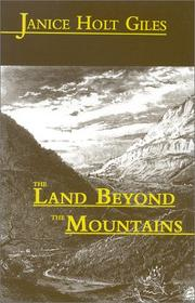Cover of: The land beyond the mountains