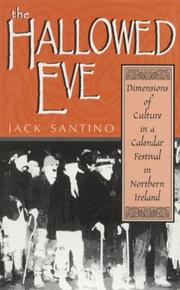 Cover of: hallowed eve | Jack Santino