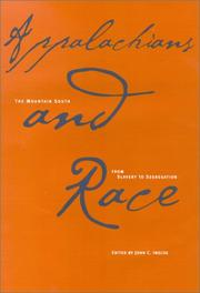 Cover of: Appalachians and Race