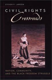 Cover of: Civil rights crossroads