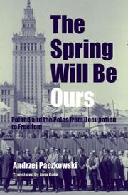 Cover of: The spring will be ours