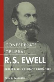 Cover of: Confederate general R.S. Ewell