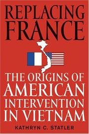 Cover of: Replacing France
