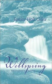 Cover of: Wellspring