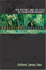 Cover of: Resisting Rebellion | Anthony James Joes