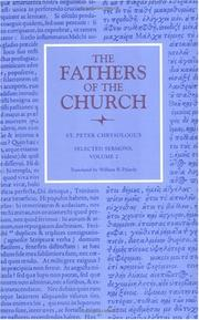 Cover of: St. Peter Chrysologus | St. Peter Chrysologus