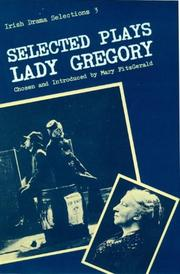 Cover of: Selected plays of Lady Gregory