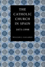 Cover of: The Catholic Church in Spain, 1875-1998