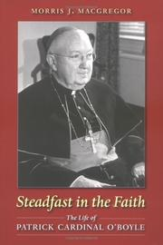 Cover of: Steadfast in the faith