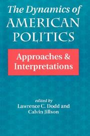 Cover of: The Dynamics of American politics