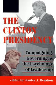 Cover of: The Clinton Presidency