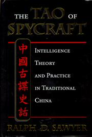 Cover of: The Tao of spycraft