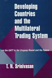 Developing countries and the multilateral trading system