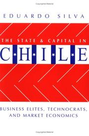 Cover of: The State and Capital in Chile