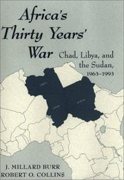 Cover of: Africa's Thirty Years War: Libya, Chad, and the Sudan, 1963-1993