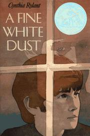Cover of: A fine white dust |