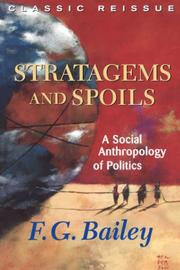 Cover of: Stratagems and spoils