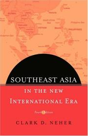 Southeast Asia in the new international era by Clark D. Neher