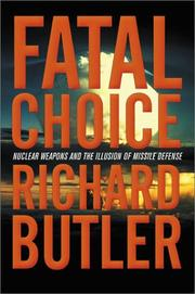 Cover of: Fatal Choice | Richard Butler