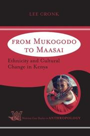Cover of: From Mukogodo to Maasai