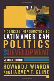 Cover of: A Concise Introduction to Latin American Politics And Development