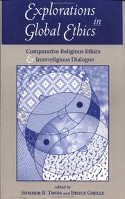 Cover of: Explorations in Global Ethics | Twiss