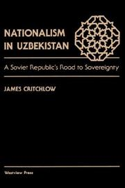 Cover of: Nationalism in Uzbekistan
