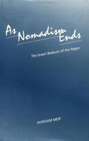 Cover of: As Nomadism Ends