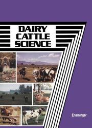 Dairy cattle science