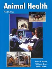 Cover of: Animal health