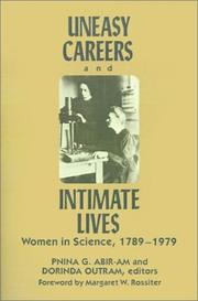 Cover of: Uneasy careers and intimate lives