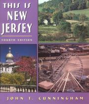 Cover of: This is New Jersey | John T. Cunningham
