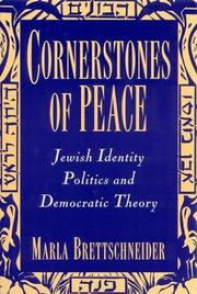 Cover of: Cornerstones of peace